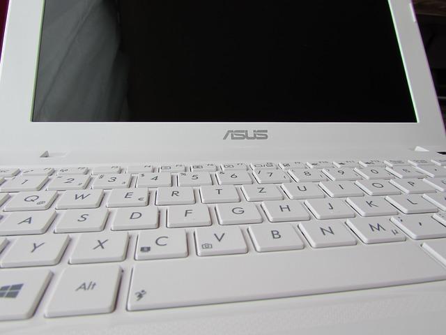 bílý Asus